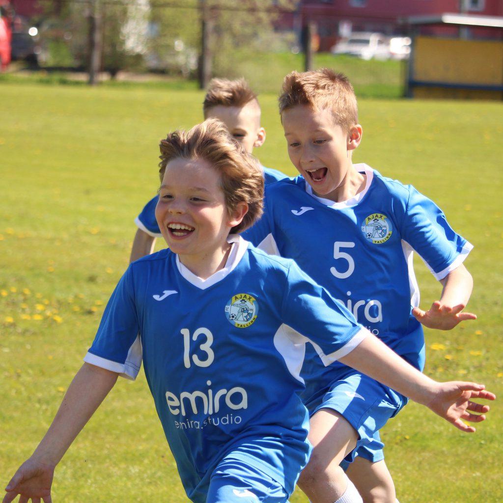 FC AJAX 2009 в отличном настроении!