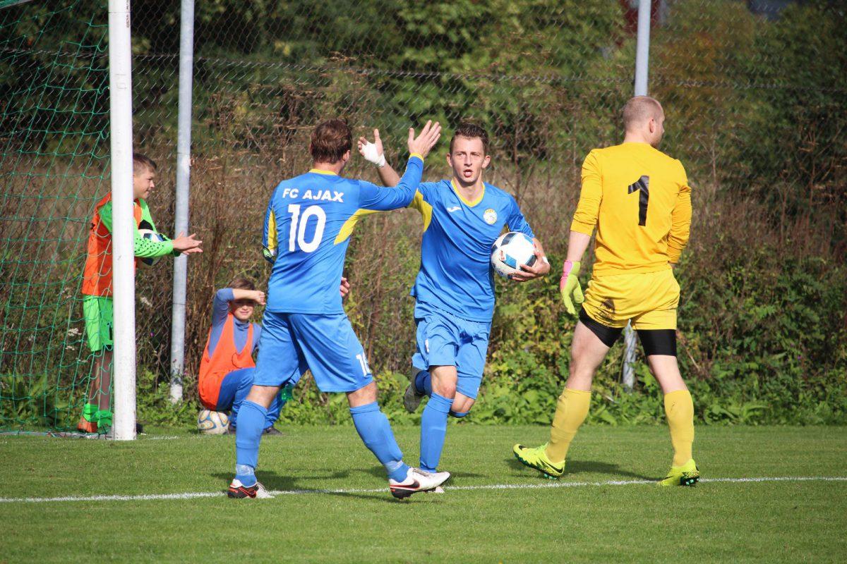 Lasnamäe FC Ajax II обыграла Tallinna FC Teleios