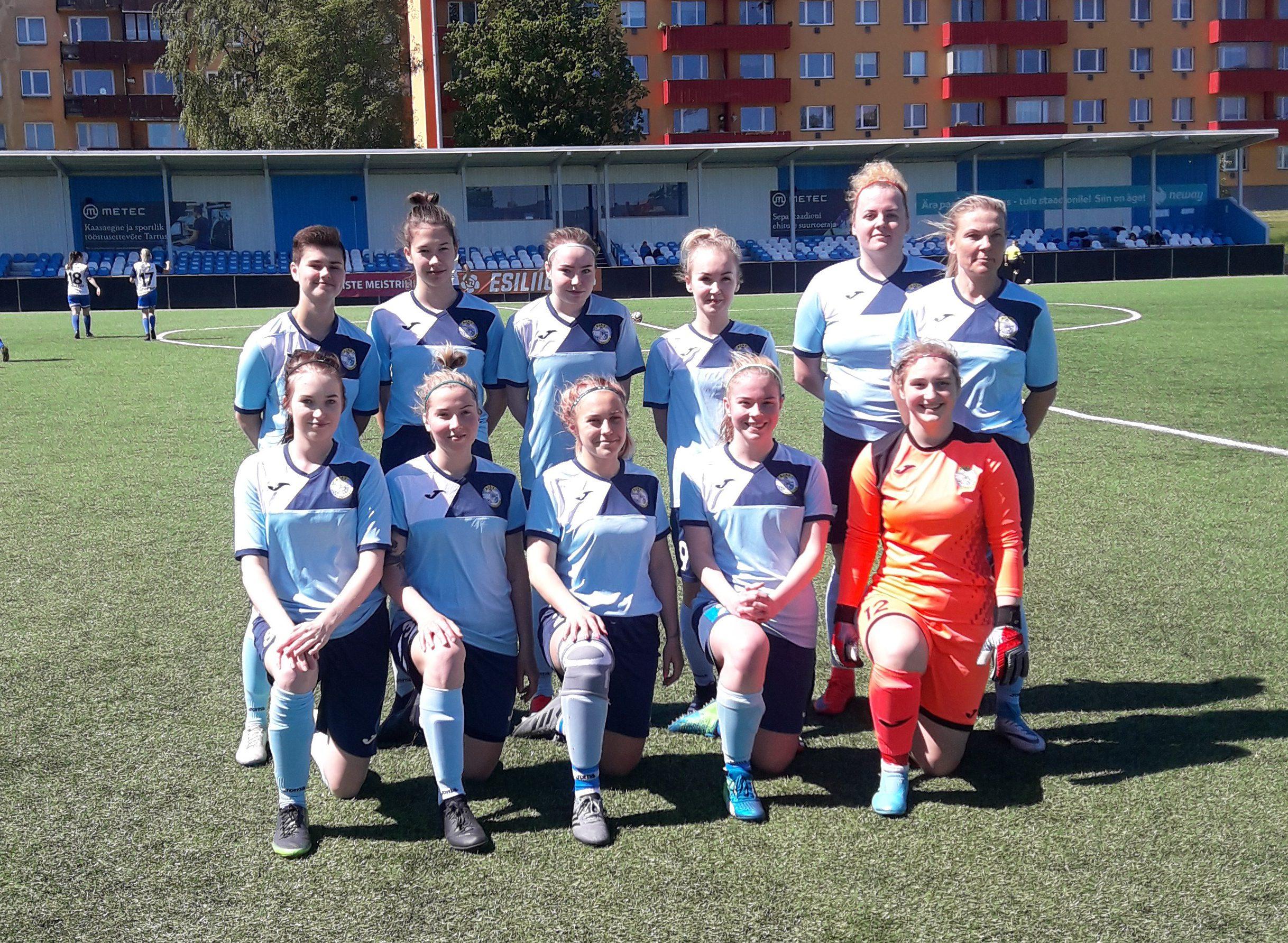 Поздравляем команду Tallinna FC Ajax – Paide LN!